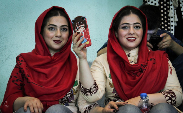Iranian twins gather to mark twins and multiples national day