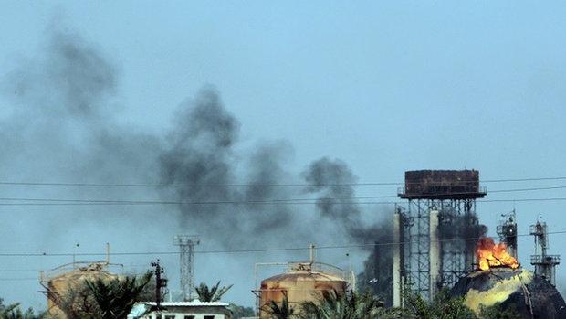 18 قتيلا حصيلة الهجوم الارهابي على معمل للغاز شمال بغداد