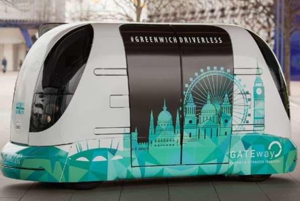 اتومبیل خودران به ایستگاه «گرین ویچ» رسید
