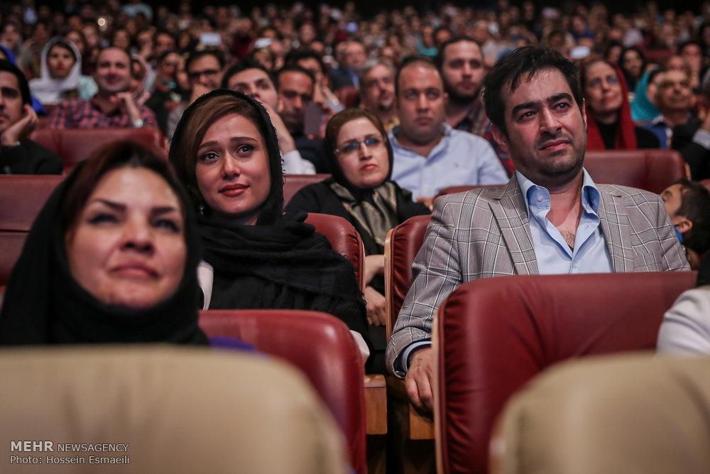 عکس شهاب حسینی و همسرش در اختتامیه شهرزاد, شهاب حسینی و همسرش در جشن شهرزاد, عکس شهاب حسینی و همسرش در مراسم فرش قرمز شهرزاد