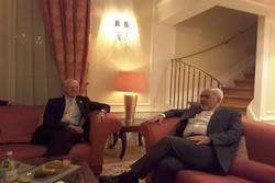 وزير الخارجية الايراني يلتقي ديمستورا في فيينا