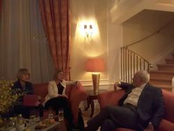 ظريف يلتقي موغيريني على هامش منتدى اوسلو الدولي