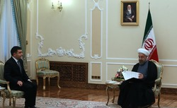 Ambassadors of four countries present credentials to Rouhani