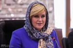 دیدار رییس جمهور کرواسی بارییس مجلس شورای اسلامی