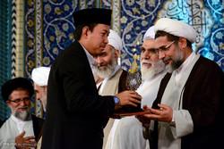 مراسم اختتامیه مسابقات قرآن