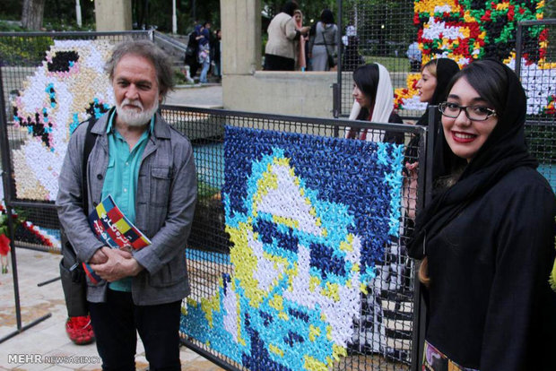 Exhibition of portraits of Iranian music legends