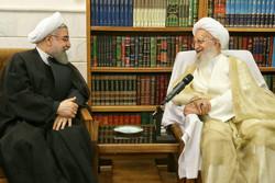 """روحاني يشدد على ضرورة استمرار المساعي للحيلولة دون اشاعة فكرة """"ايران فوبيا"""""""