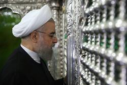 Pres. Rouhani visits Qom