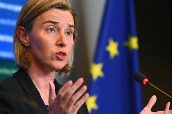 برسلز میں یورپی یونین کے وزراء خارجہ  کا مشترکہ ایٹمی معاہدے کی حمایت کا اعلان / امریکہ کو انتباہ