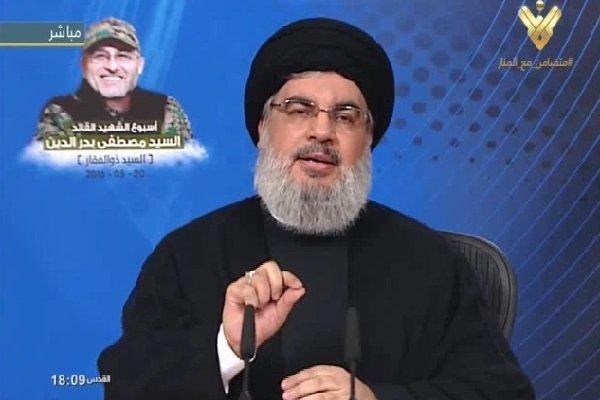 نصرالله: على العالم ان يتحمل مسؤولية منع تنفيذ قرار آل خليفة