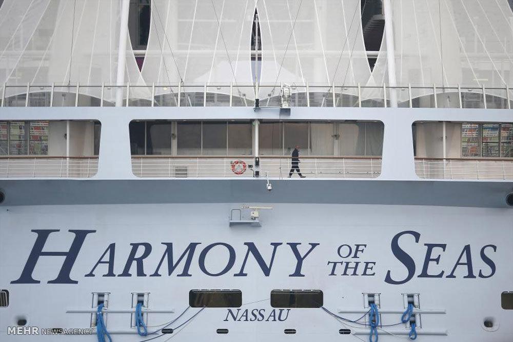بزرگترین کشتی تفریحی جهان