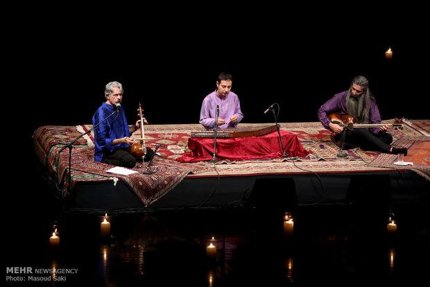 Kalhor performs in Tehran