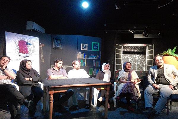 نشست خبری تئاتر کلاغ پر در شیراز