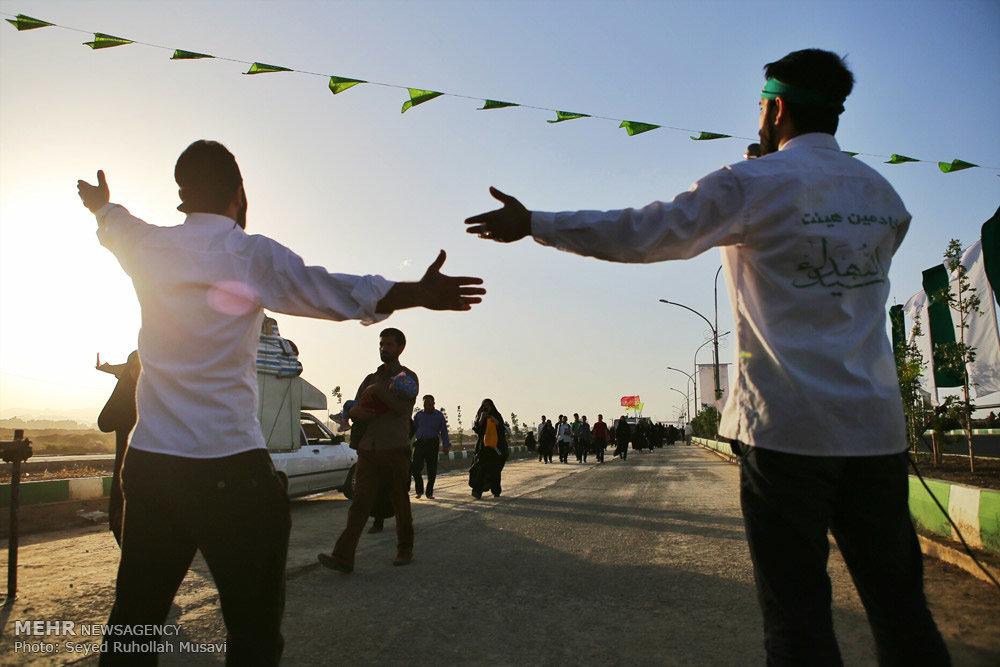 پیاده روی و جشن میلاد عاشقان حضرت مهدی (عج)