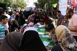 برپایی ایستگاههای نقاشی در مراکز کانون پرورش فکری کودکان لرستان