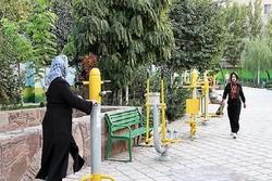 پارک بانوان شهربابک افتتاح شد