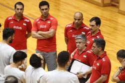 تمرین تیم ملی والیبال در ژاپن