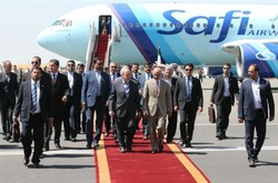 Ghani arrives in Tehran