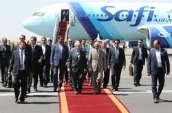Ghani arrives in Tehran