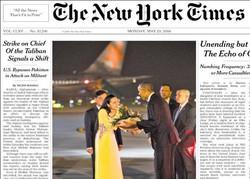 صفحه اول روزنامههای انگلیسی ۳ خرداد ۹۵