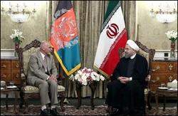 روحاني : مستعدون للتعاون مع افغانستان لتعزيز أمنها