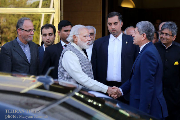 Indian PM arrives in Iran to boost economic ties