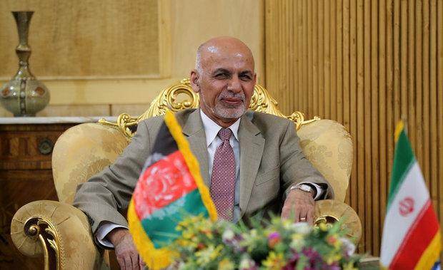 Afghan president arrives in Tehran