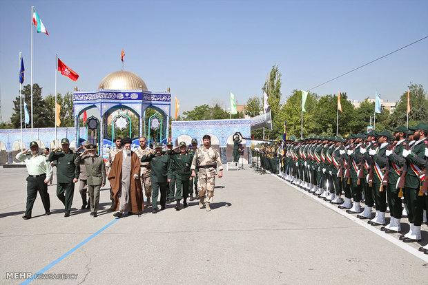 مراسم دانشآموختگی دانشجویان دانشگاه امام حسین علیهالسلام
