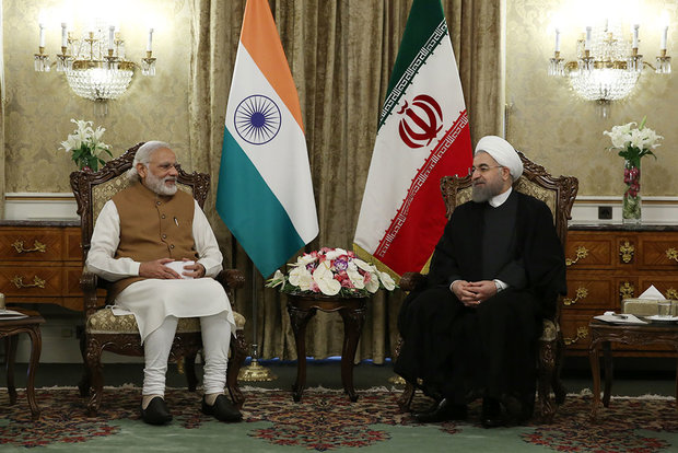 Rouhani officially welcomes Indian PM