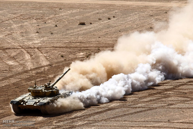 3rd stage of Beit-ul Moqaddas 28 military drill