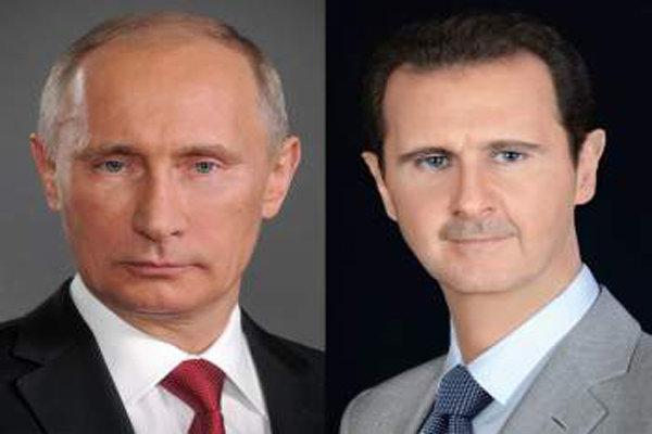 Putin, Assad discuss Russia-Turkey truce