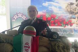 سردار عبدالرحیم ابراهیمیان فرمانده گروه پدافند هوایی10 محرم شهرستان شاهرود