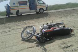 موتورسواران نوجوان و عابران کهنسال قربانیان اصلی تصادفات فوتی یزد