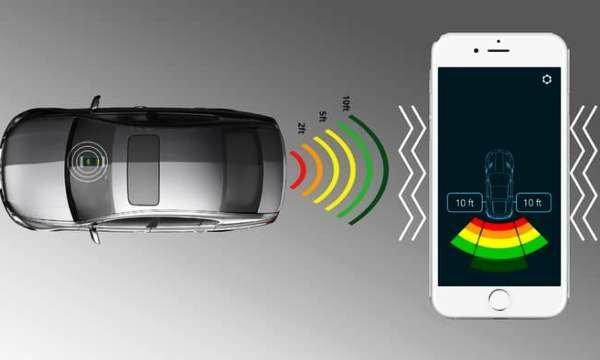 پارک بی نقص خودرو با فناوری بلوتوثی