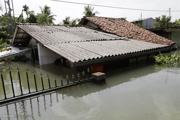 سیل در سریلانکا
