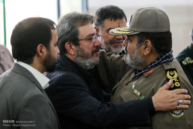 مراسم بزرگداشت سردار سیدمصطفی بدرالدین شهید حزبالله لبنان
