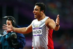 Haddadi secures gold in Stuttgart event