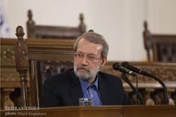 Hakim, Haniyeh, felicitate Larijani on re-election