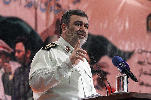 رشد و شکوفایی پلیس در ایران یک حرکت مثال زدنی است