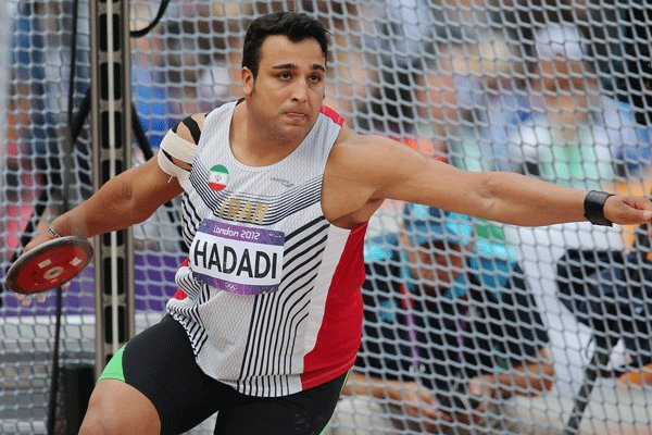 Iranian discus thrower wins gold in USSD Competitions