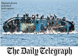 صفحه اول روزنامههای انگلیسی ۶ خرداد ۹۵