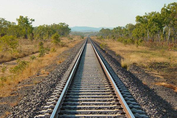 راه آهن قزوین به رشت
