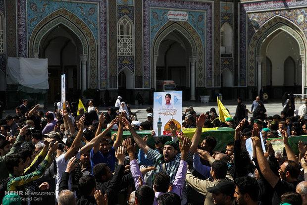مراسم یادبود شهید حسونی زاده در اهواز برگزار میشود