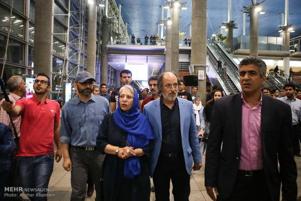 همسر اصغر فرهادی عکس جدید ترانه علیدوستی عکس جدید بازیگران بازیگران فیلم فروشنده اینستاگرام ترانه علیدوستی