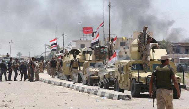 القوات العراقية تواصل تقدمها بعمليات تحرير الفلوجة
