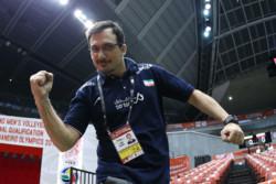 بازیکنان والیبال ایران بهترین بازی را ارائه کردند
