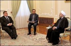 روحاني يؤكد على ضرورة الوقوف امام الدول الداعمة للارهاب