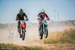 Kazvin'deki Motocross Yarışması