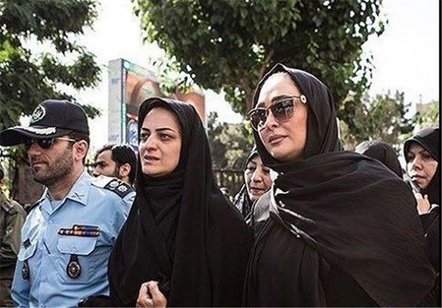 دلنوشته الهام حمیدی برای همسر شهید بابایی