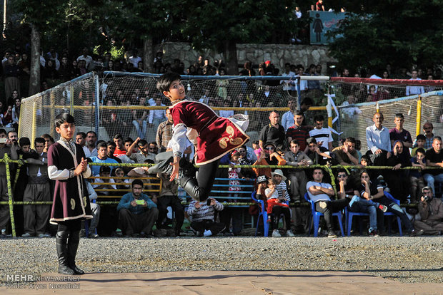 Closing ceremony of Intl. Festival of Traditional Games